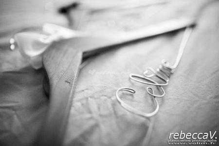 Tutoriel cintre personnalisé de mariage