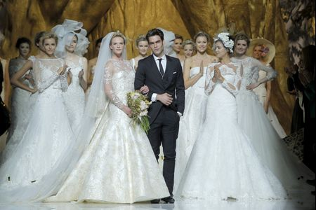 Avant-premi�re de la collection Pronovias 2014
