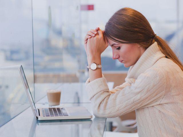 4 signes de stress au cours de vos préparatifs