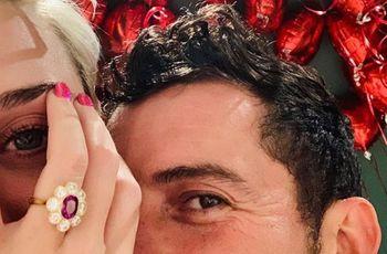 Orlando Bloom et Katy Perry, fiancés le jour de la Saint-Valentin