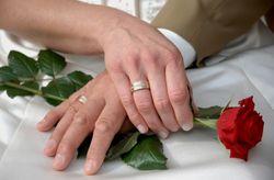La cérémonie de la rose