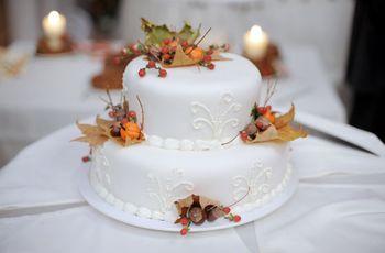 Wedding Cakes d'automne