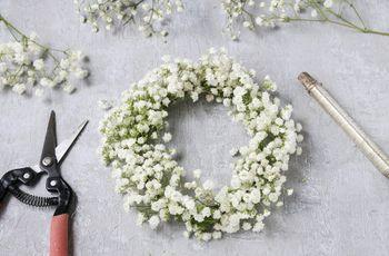 Tutoriel pour créer une couronne de fleurs