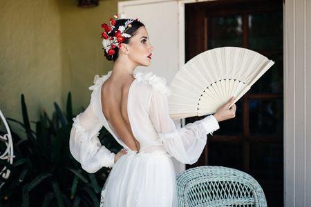 Cap sur l'Andalousie avec les robes de mariée Constance Fournier !