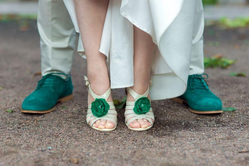 56ba8fb336b4 De même que si vous avez opté pour une noce chic et luxueuse, n'allez pas  porter de sandales. Soyez en adéquation avec le style de votre mariage !