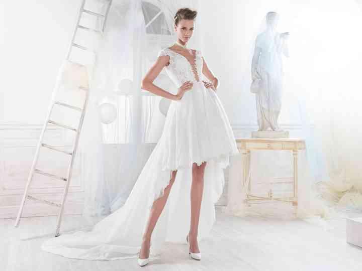 27 Robes De Mariee Longues Derriere Et Courtes Devant