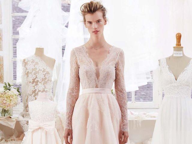 Collection Atelier Emelia Paris 2018 : le raffinement à la française pour votre robe de mariée