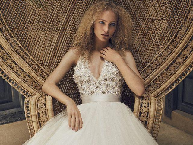 Robes de mariée 2018 de Jenny Packham : une collection dans l'art du rétro !