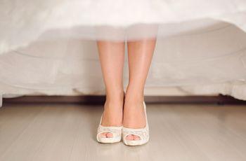 Les 7 erreurs courantes dans l'achat des chaussures de mariée