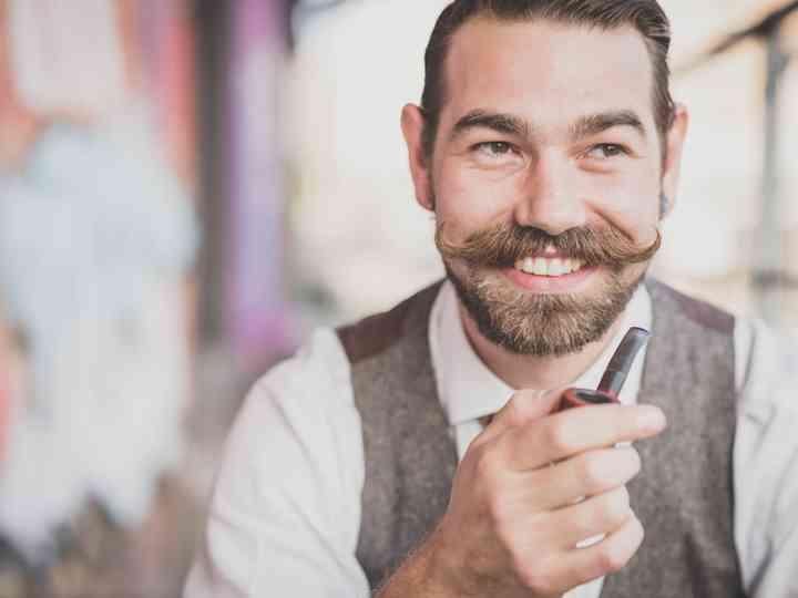 Marié : trouvez la bonne moustache pour votre mariage !