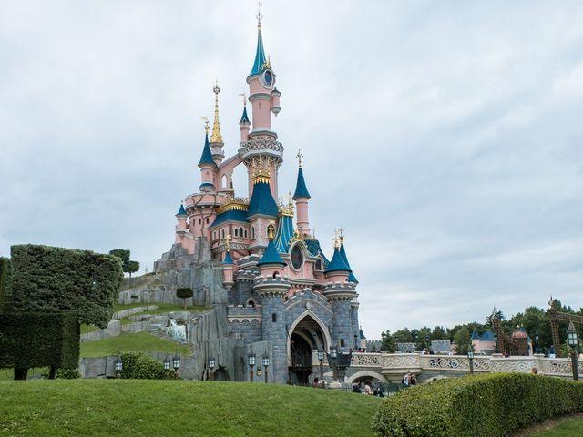 Voyage de noces à Disneyland Paris