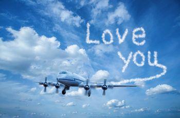 Comment faire sa déclaration d'amour dans le ciel ?