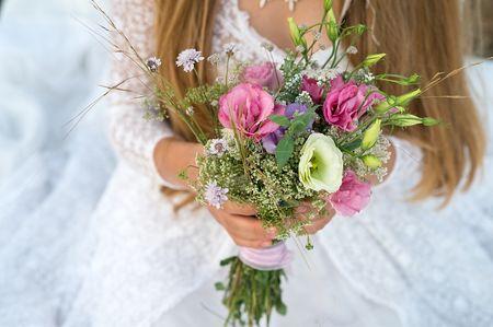 Comment porter le bouquet de la mari�e ?