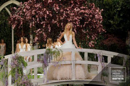 Atelier Pronovias 2019 : sublimes robes de mariée inspirées des jardins de Claude Monet