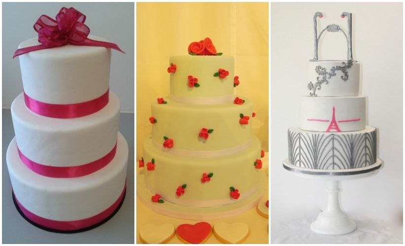 Taille Wedding Cake  Personnes
