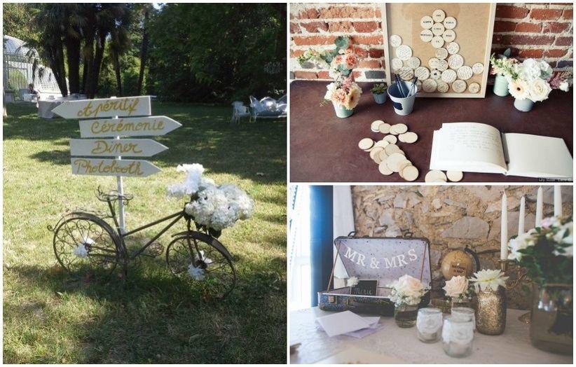 Ideas para una boda vintage   imperio de vestidos