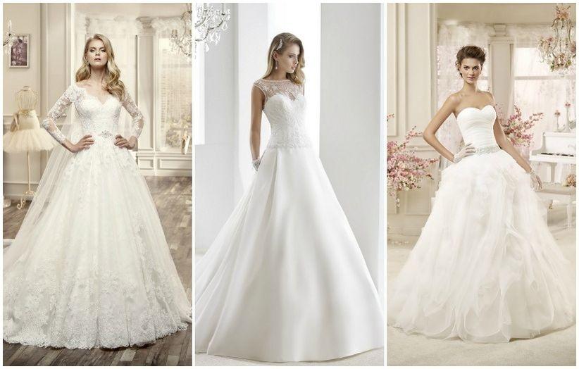 Coupes et formes d'une robe de mariée