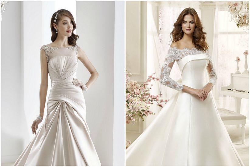 Robes de mari e pour petites poitrines for Robes que les gens portent aux mariages