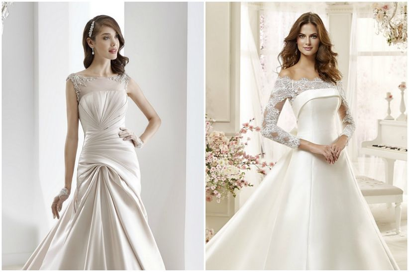 robes de mari e pour petites poitrines
