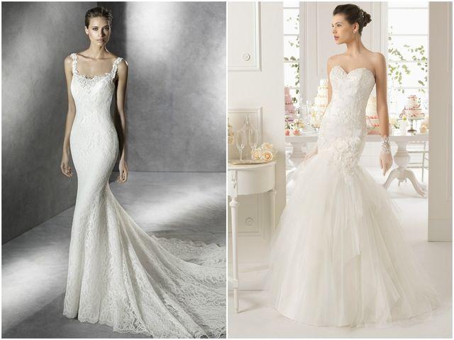 Robes de mariée coupe sirène 2016