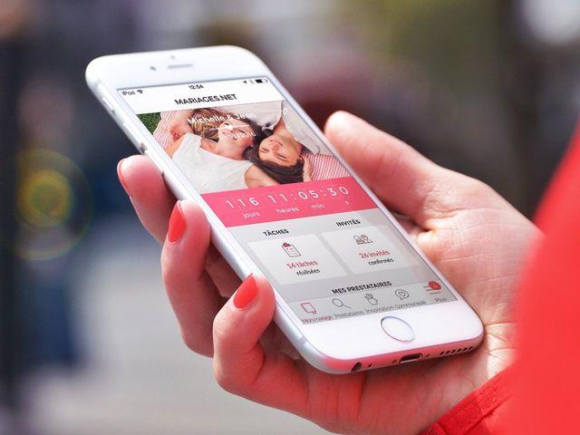 Organiser son mariage depuis son smartphone