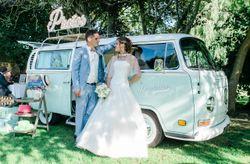 Un photobooth à quatre roues pour votre animation de mariage