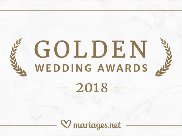 Golden Wedding Awards 2018 : la palme d'or aux meilleurs prestataires de mariage d'après les mariés !