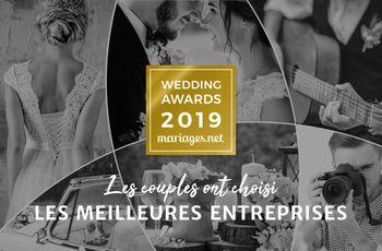 Wedding Awards 2019 : le palmarès des meilleurs prestataires de mariage
