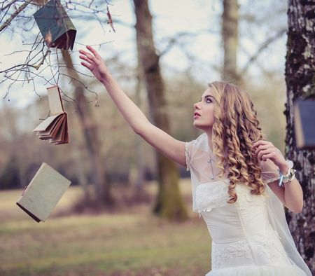 Thème de mariage : la littérature à l'honneur de votre journée de noce