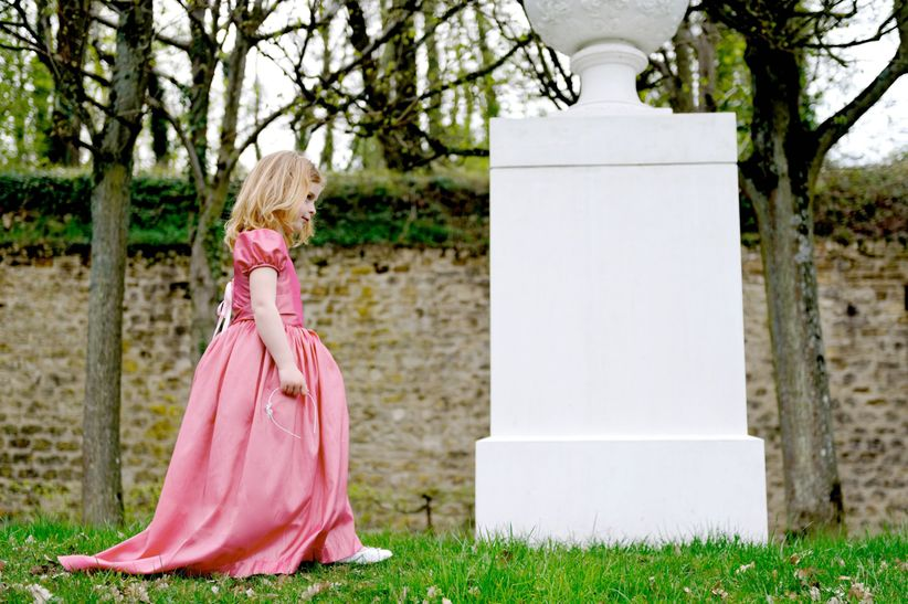 6 styles de robes pour les petites filles du mariage for Les tout petits s habillent pour les mariages