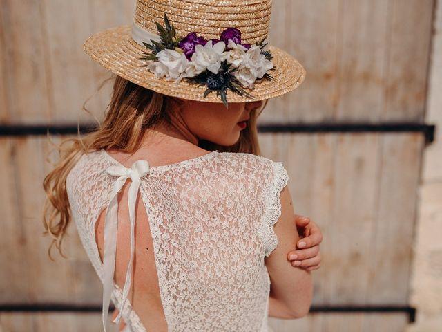 Adeline Bauwin 2019: des robes simples qui chantent l'Amour !