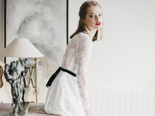Collection Cherubina : mariée rétro chic