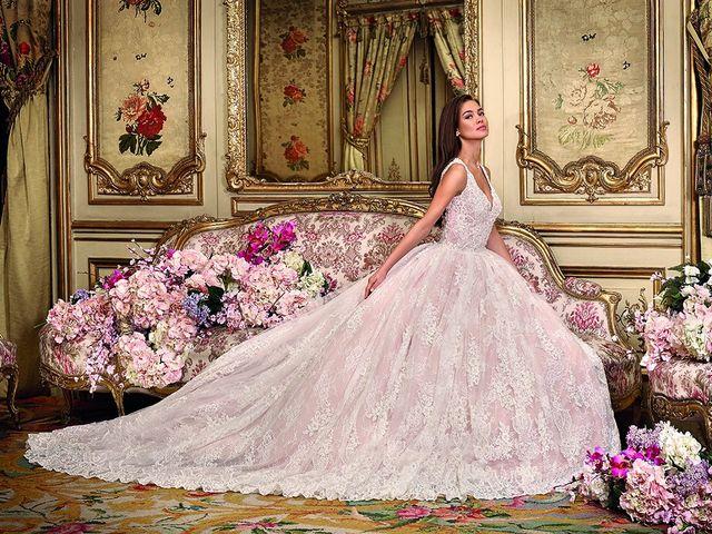 Demetrios Platinium 2018 : une collection de robes de mariée royales