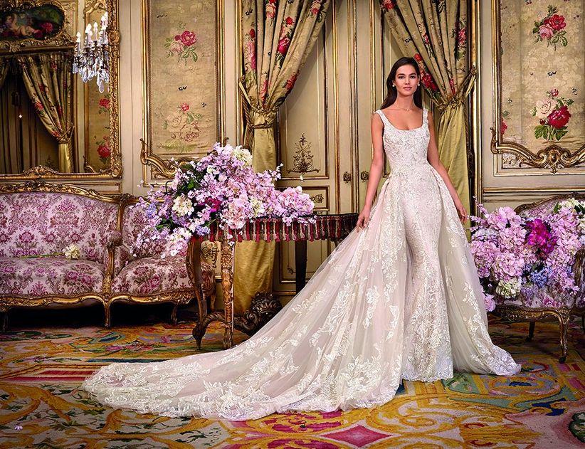 2018 Platinium Royales Collection Demetrios Une Mariée Robes De vgUTq5w