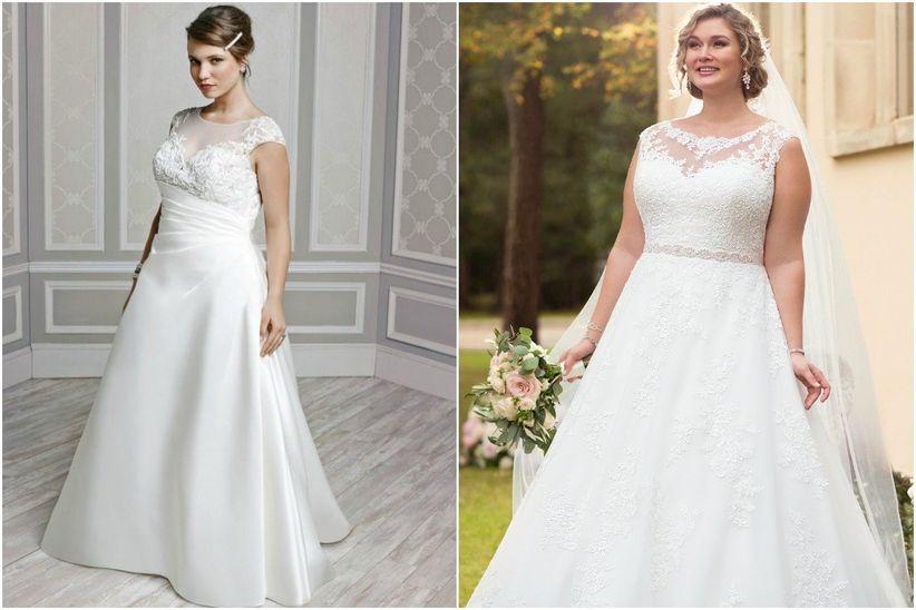 Robe de mariee grande taille empire