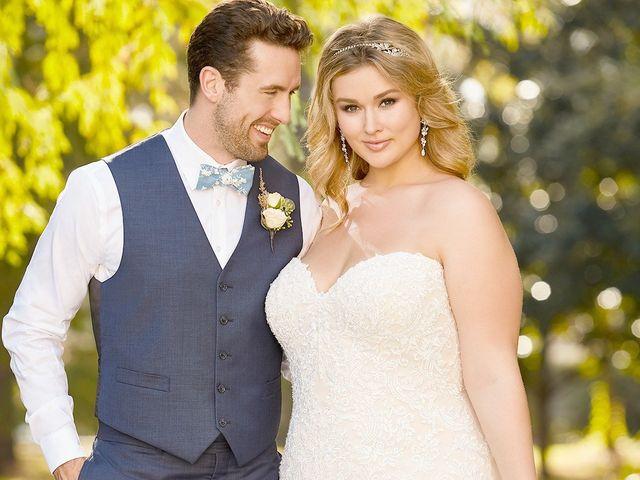 Choisir sa robe de mariée grande taille