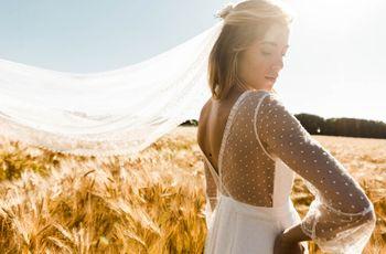Collection Lorafolk 2019 : des robes de mariée entre fluidité maîtrisée et lignes épurées