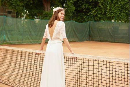 Maison Floret 2019 : des robes de mariée rétro-chic façon garden-party