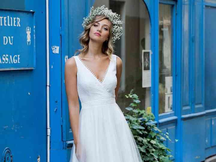 Marie Laporte 2019 : des robes de mariée aériennes pour votre rêve bleu !