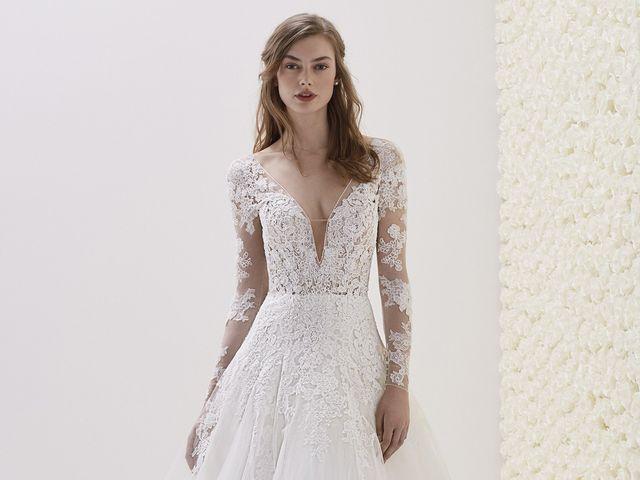 Nouvelles collections Pronovias : zoom sur les robes de mariée 2019