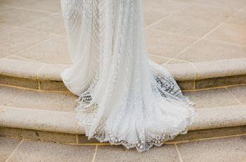Types de traînes pour la robe de mariée