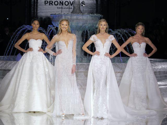 Défilé Pronovias 2018 : une nouvelle collection de robes de mariée tout en délicatesse