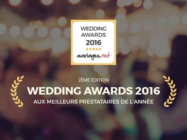 Remise des Wedding Awards 2016 par mariages.net