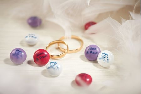7 idées à réaliser avec des M&M's pour un mariage plein de douceurs