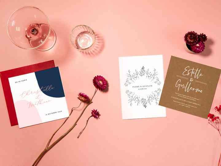 Popcarte : tendances 2019/2020 pour vos faire-part de mariage