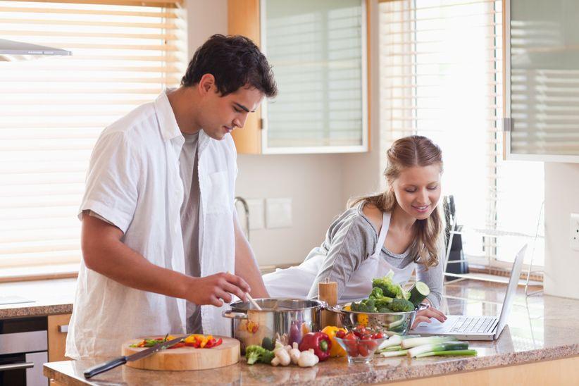 Faire la cuisine pour deux for Cocinar para 40 personas