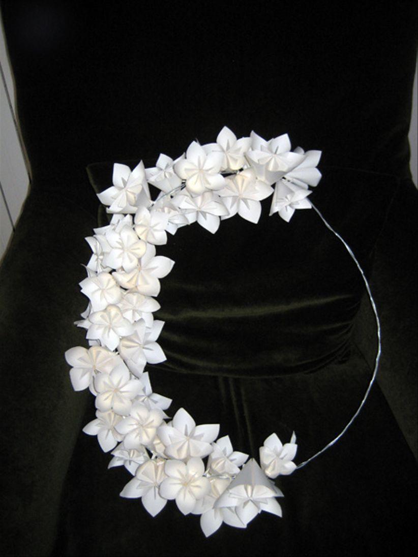 Tutoriel Pour Cr Er Une Couronne De Fleurs En Papier