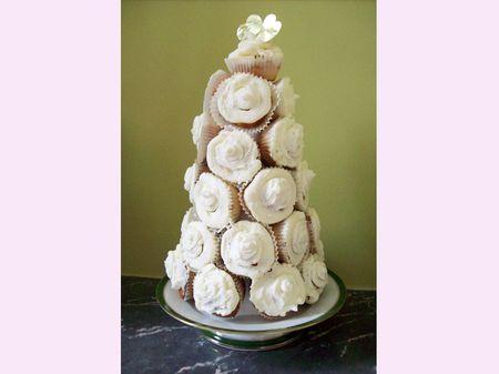 Tutoriel recette pièce montée de cupcakes