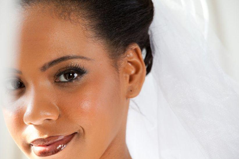 id es et conseils maquillage de mari e pour peaux noires. Black Bedroom Furniture Sets. Home Design Ideas