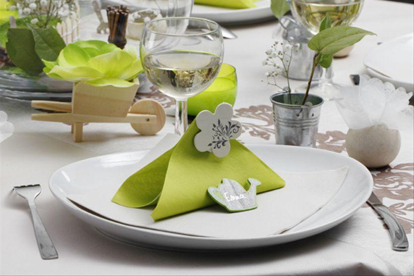 4 th mes de d coration de mariage tendances - Deco de table theme nature ...